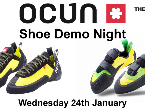 Ocun Shoe Demo on 24th January