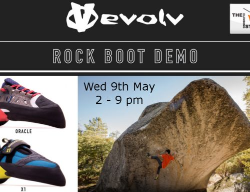 Evolv Shoe Demo on 9th May