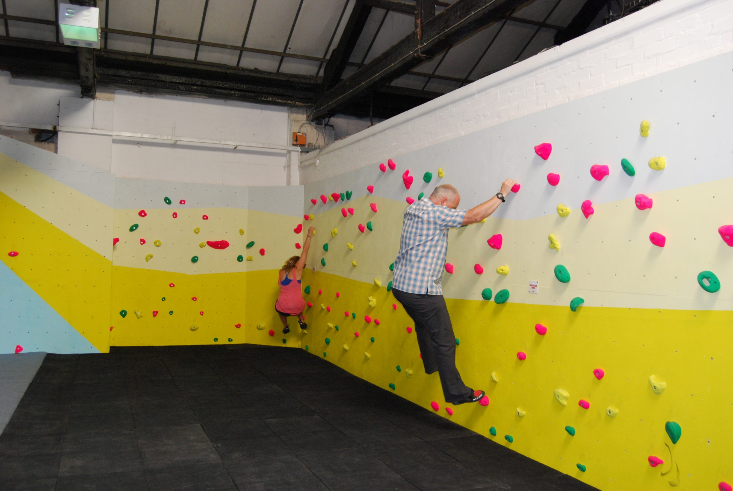 Warm-Up Area/ Traverse Wall