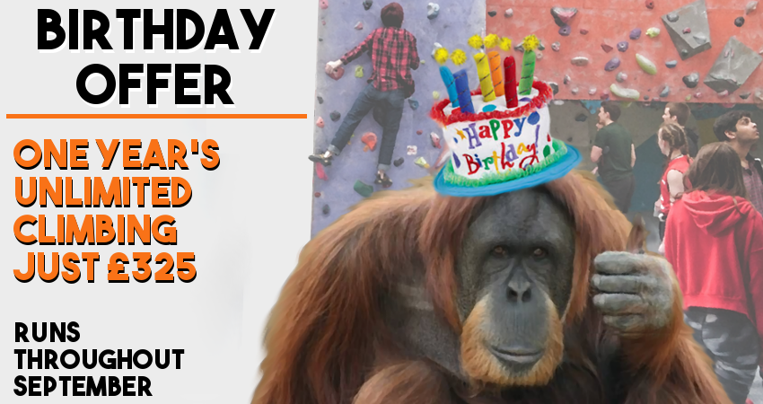 Birthday Offer - Discounted 12 month membership throughout September