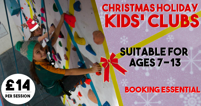 Chrsitmas holiday clubs poster
